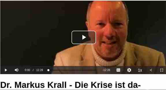 8. Juli 2020 Dr. Markus Krall berichtet über die momentane wirtschaftliche Lage, über die aktuelle Schuldenpolitik Europas, sowie über die aktuelle Wirtschaftskrise... ABER ACHTUNG!! KENNE DESSEN AGENDA!!