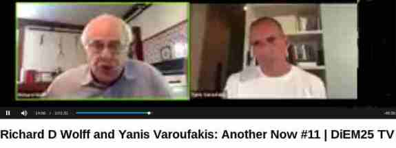 Tonight, Yanis Varoufakis is joined by the American Marxist economist Richard D Wolff.  The coronavirus crisis is revealing that the powers that be of the European Union have learned nothing from the Eurocrisis.  They are currently betraying the interests of the majority of Europeans in the same way that they have done so in 2010 -- by failing to mobilize existing money and public financial instruments in the interests of the many. With their current decisions, they are jeopardizing public health, public goods and the interests of Europeans...
