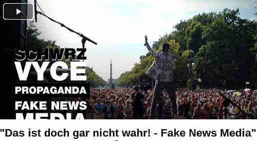 'Das ist doch gar nicht wahr! - Fake News Media' (feat. @SchwrzVyce ) Geteilt August 2, 2020 Auf '17.000' Teilnehmer einigten sich die berichterstattenden Massenmedien bzgl. der Coronademo in Berlin am 1. August 2020. Die Bilder sprechen eine andere Sprache und entlarven die mediale Berichterstattung abermals als Fake News.