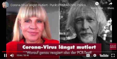 Corona-Virus längst mutiert – Worauf reagiert also der PCR-Test?Er ist der Ur-Kritiker der Corona-Maßnahmen. In seinem Punkt-Preradovic-Interview im März 2020 warnte Dr. Wolfgang Wodarg bereits vor einer Testpandemie und kritisierte den PCR-Test von Prof. Drosten. Jetzt rollt angeblich die zweite Coronawelle. Zumindest die Panikwelle. Jeden Tag neue Infektionsrekorde, Kanzlerin und Bayerns Mininsterpräsedent Söder bringen den Lockdown wieder ins Spiel und warnen vor einem Kontrollverlust in der Pandemie.Aber wie seriös ist es, sich bei den Verschärfungen der Maßnahmen einzig auf die Neuinfektionen – also positive PCR-Tests – zu stützen? Wie viele Mediziner findet auch Dr. Wodarg das völlig falsch. Der Seuchenexperte sagt: 'Das Virus ist seit Wuhan 100fach mutiert, weil Corona-Viren das so machen. Worauf genau reagiert also der PCR-Test?'Ein Gespräch über Tests, Masken als Virenschleudern, 'Körperverletzung' bei Kindern und Interessenskonflikte in Politik und Wirtschaft...