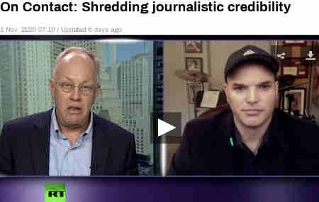 Chris Hedges and Matt Taibbi examine how the media and the major tech platforms function as a propaganda and censorship bureau on behalf of the Democratic Party and the Biden campaign...