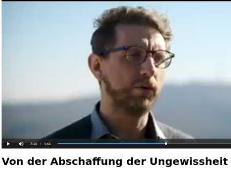 Gunnar Kaiser - Von der Abschaffung der Ungewissheit