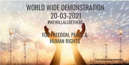 Wir werden alle da sein!Großdemonstration am 20.03.21 in Kassel und länderübergreifend in beinahe 40 weiteren Ländern Die Großdemonstration in Kassel hat sich zu einem internationalen Ereignis entwickelt:Am Samstag, den 20. März, wird es in etwa 40 weiteren Ländern eine Demonstration für Freiheit und Demokratie geben. Länderübergreifend fordern die Menschen die Einhaltung ihrer Grundrechte und die Beendigung der überzogenen Corona-Maßnahmen. Menschen aus ganz Deutschland werden nach Kassel kommen; der genaue Veranstaltungsort wird in den nächsten Tagen bekannt gegeben. 17.500 Teilnehmer wurden angemeldet. Von Australien bis Island, von Südafrika bis Schottland, von Litauen bis Kanada werden Menschen auf die Straße gehen. Auch viele Nachbarländer sind dabei, unter anderem Polen, Tschechien, die Beneluxstaaten, Dänemark, Schweiz, Frankreich und Österreich. Die Bilder werden um die Welt gehen. Viele Orte werden via  Livestream am 20. März mit Kassel vernetzt sein. Dieser Zusammenschluss ist längst überfällig! Das politische Handeln der Regierungen während der Corona-Pandemie ist ein internationales Problem, welches eine internationale Antwort verlangt. Wir stehen gemeinsam für humanitäre Werte ein und setzen ein globales Zeichen für wahre Solidarität. Umso mehr freuen wir uns darüber, dass so viele Menschen diesem Aufruf folgen. Wir sind eine Menschheitsfamilie! Wir lassen uns nicht spalten! www.freiebuergerkassel.de www.worldwidedemonstration.com info@freiebuergerkassel.de t.me/grossdemokassel t.me/worldwidedemonstration#ZUSAMMENHALTSTATTSPALTUNG